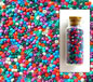 Satin Opaque Mixed Seed Beads