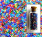 Transparent Lustred Royal Mixed Seed Beads