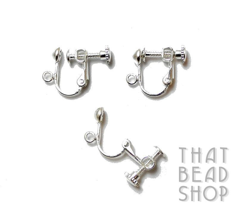 inventory earring clip on earrings with back