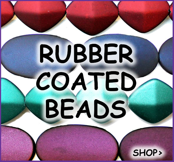Rubber Coated Beads