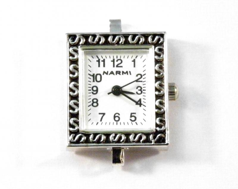 Inventory watch faces silver plated rectangle watch face s design aloadofball Gallery