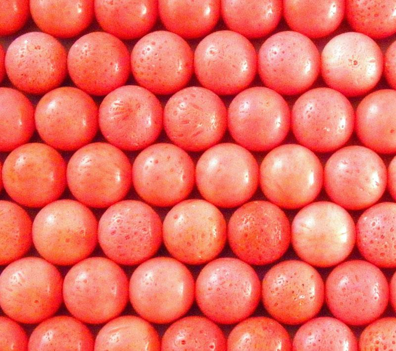 Pomegranate 12mm Sponge Coral round