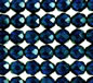 8mm Capri Blue Fire Polished Faceted Round