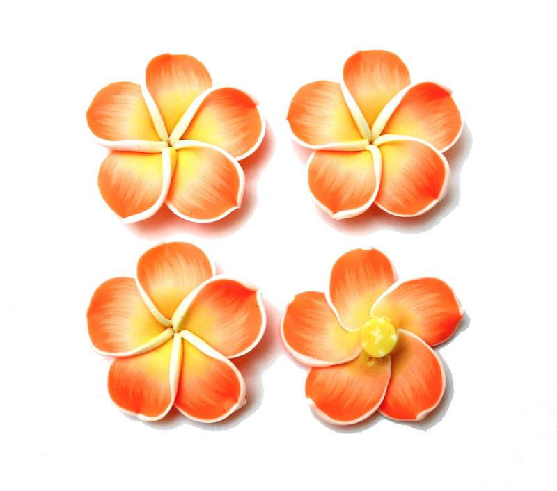 Hot Orange Frangipani - 2 pack