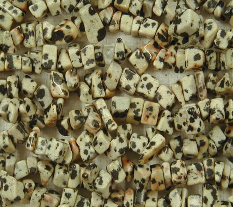 Dalmation Jasper Gemstone Chips