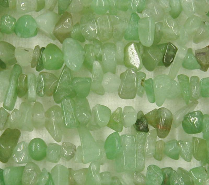 Green Aventurine Gemstone Chips