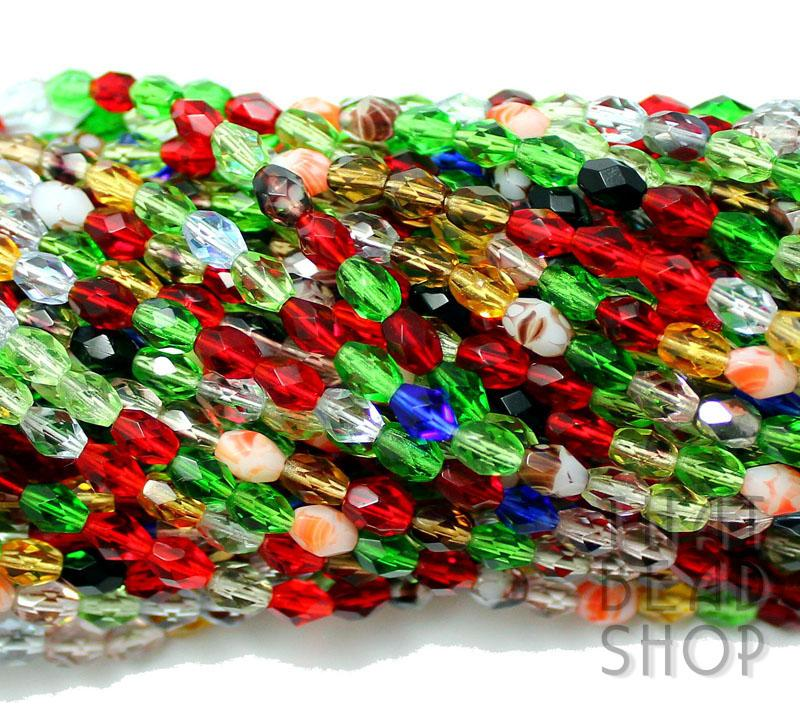 6mm x 4mm Jungle Rainbow Fire Polished Faceted Oval