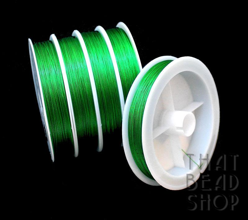 Emerald Tiger Tail 0.38mm - 100m